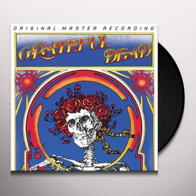 Grateful Dead SKULL & ROSES Vinyl Record - Limited Edition, 180 Gram Pressing