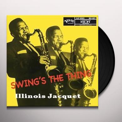 Illinois Jacquet SWING'S THE THING Vinyl Record - 200 Gram Edition