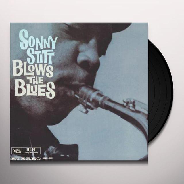 Sonny Stitt BLOWS THE BLUES Vinyl Record - 200 Gram Edition