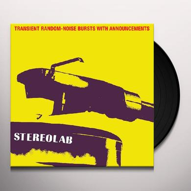 Stereolab TRANSIENT RANDOM-NOISE BURSTS WITH ANNOUNCEMENTS Vinyl Record