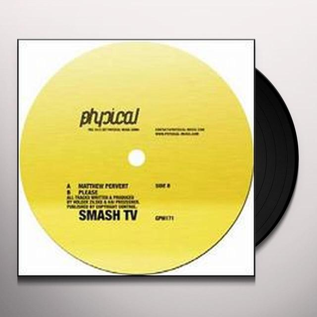 Smash Tv MATTHEW PERVERT Vinyl Record