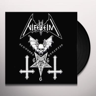 Nifelheim SERVANTS OF DARKNESS Vinyl Record - 180 Gram Pressing