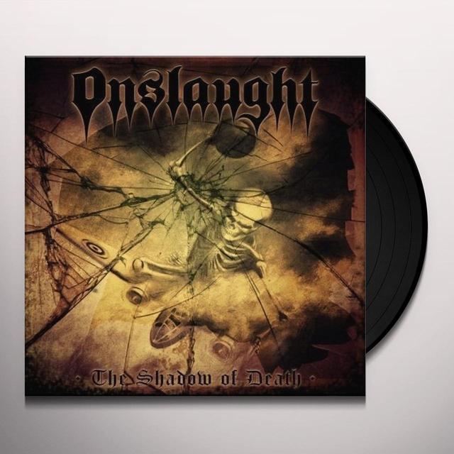 Onslaught SHADOW OF DEATH Vinyl Record - 180 Gram Pressing