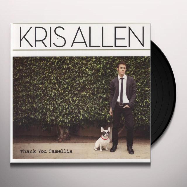 Kris Allen THANK YOU CAMELLIA Vinyl Record