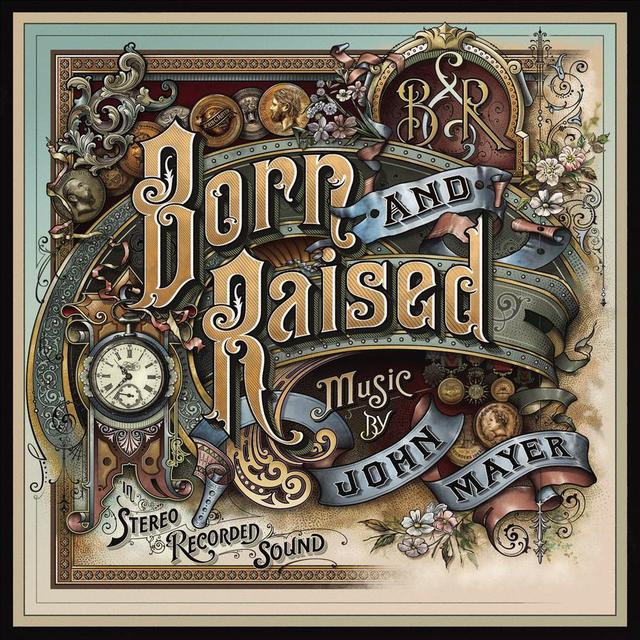 John Mayer BORN & RAISED Vinyl Record