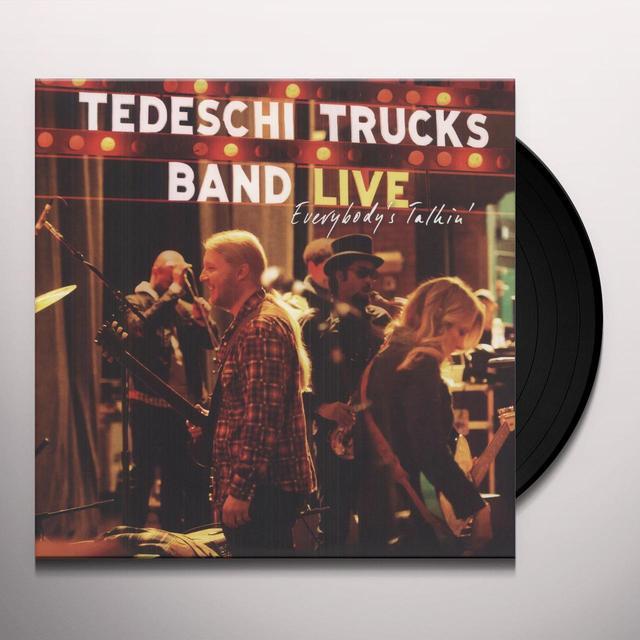 Tedeschi Trucks Band EVERYBODY'S TALKING: LIVE Vinyl Record