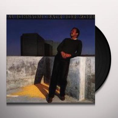 Al Johnson BACK FOR MORE Vinyl Record