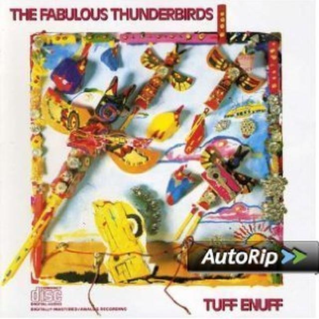 Fabulous Thunderbirds TUFF ENUFF Vinyl Record
