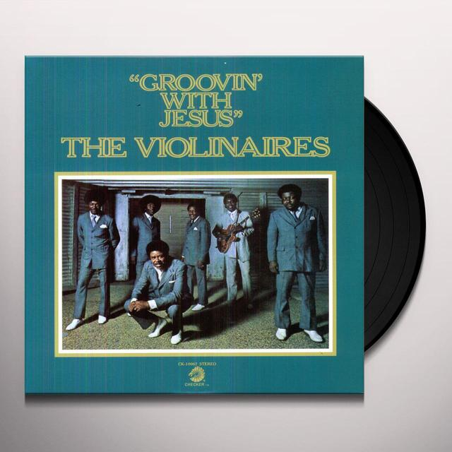 Violinaires GROOVIN WITH JESUS Vinyl Record