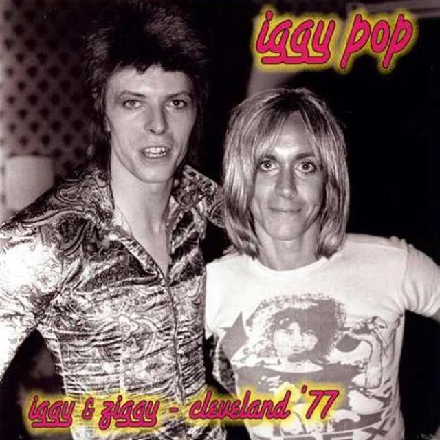 Iggy Pop IGGY & ZIGGY: CLEVELAND Vinyl Record