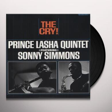 Lasha Prince & Sonny Simmon CRY Vinyl Record