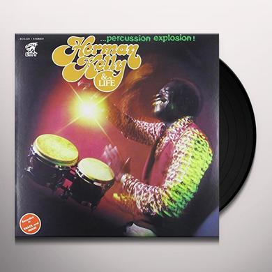 Herman Kelly PERCUSSION EXPLOSION Vinyl Record