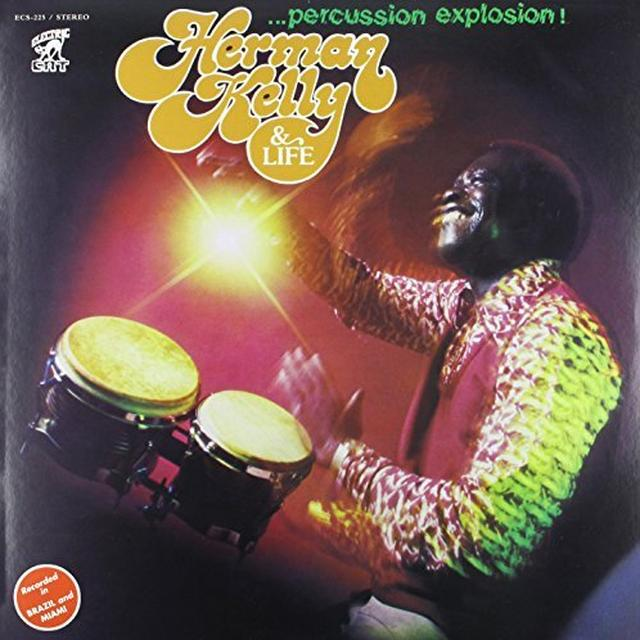 Herman Kelly PERCUSSION EXPLOSION Vinyl Record