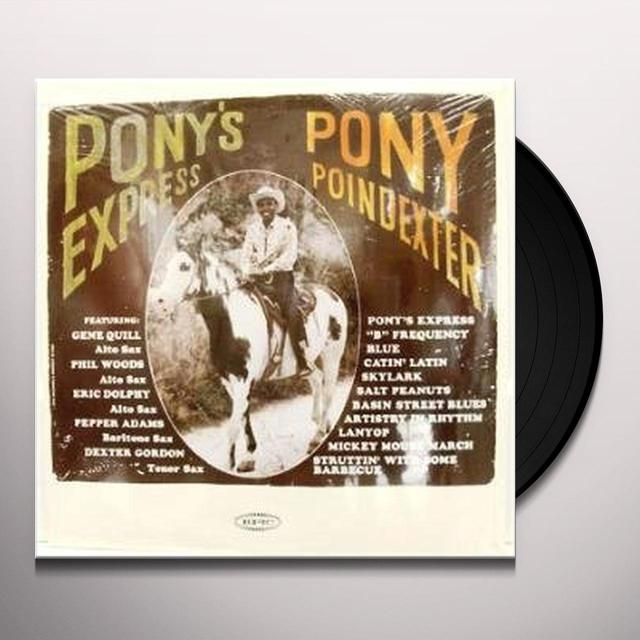 Pony Poindexter PONY'S EXPRESS Vinyl Record