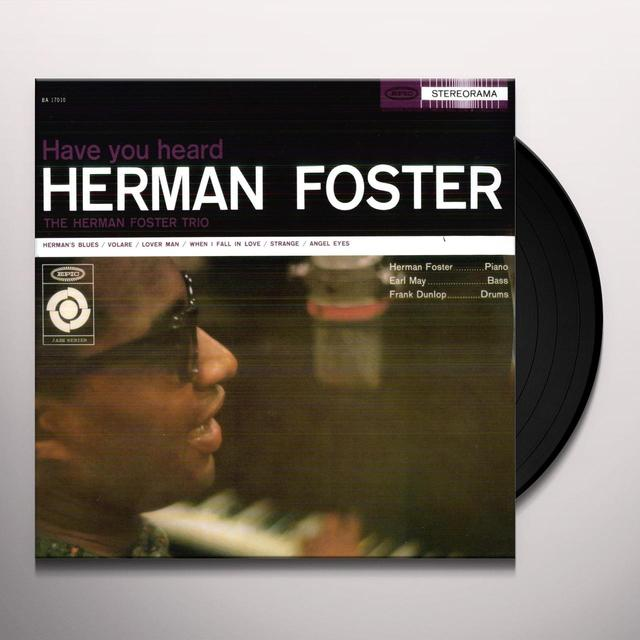 HAVE YOU HEARD HERMAN FOSTER Vinyl Record