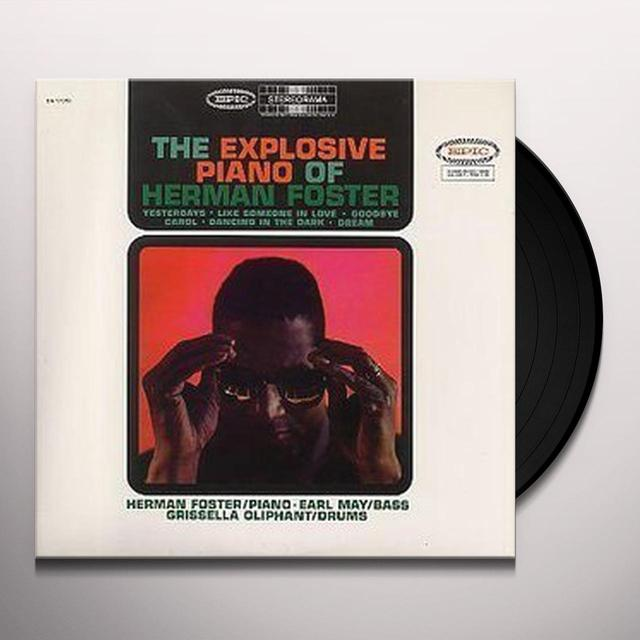 EXPOLSIVE PIANO OF HERMAN FOSTER Vinyl Record