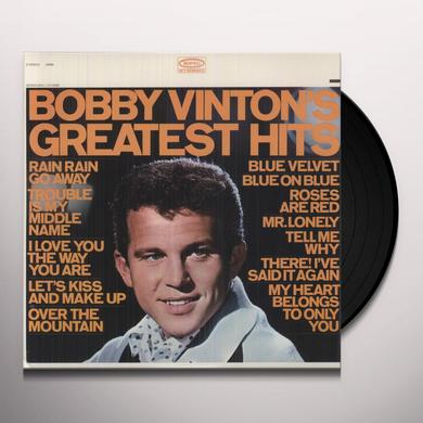Bobby Vinton GREATEST HITS Vinyl Record