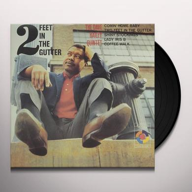 Dave Bailey TWO FEET IN THE GUTTER Vinyl Record