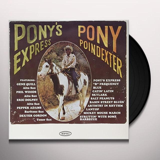 Pony Poindexter PONY'S EXPRESS Vinyl Record - 180 Gram Pressing