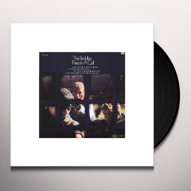 Peddlers THREE IN A CELL Vinyl Record - 180 Gram Pressing