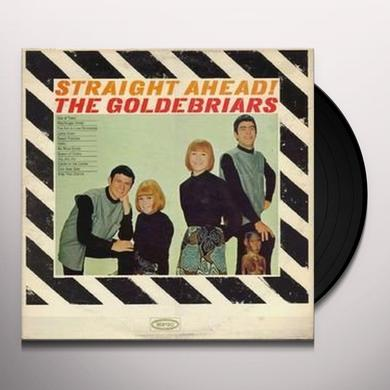 Goldebriars STRAIGHT AHEAD Vinyl Record - 180 Gram Pressing