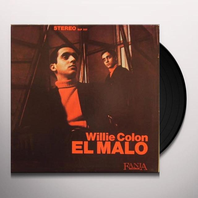 Willie Colon EL MALO Vinyl Record