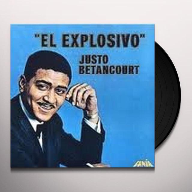 Justo Betancourt EXPLOSIVO Vinyl Record
