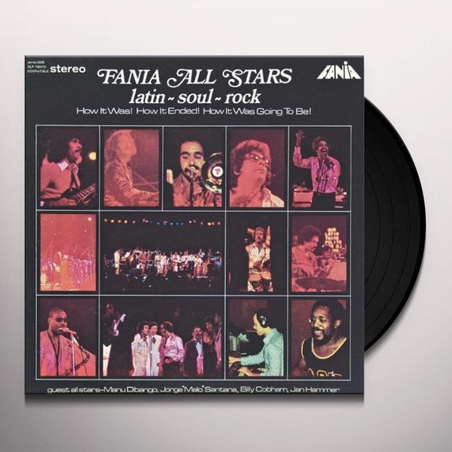 Finia All Stars LATIN SOUL ROCK Vinyl Record
