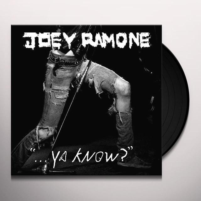 Joey Ramone YA KNOW Vinyl Record