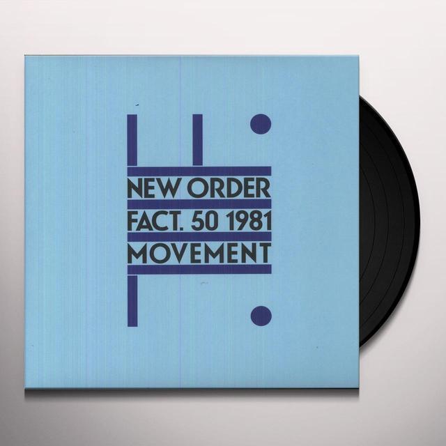 New Order MOVEMENT Vinyl Record