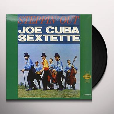 Joe Sextette Cuba STEPPIN OUT Vinyl Record