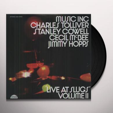Music Inc: Charles Tolliver LIVE AT SLUGS Vinyl Record