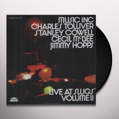 Music Inc: Charles Tolliver LIVE AT SLUGS II Vinyl Record