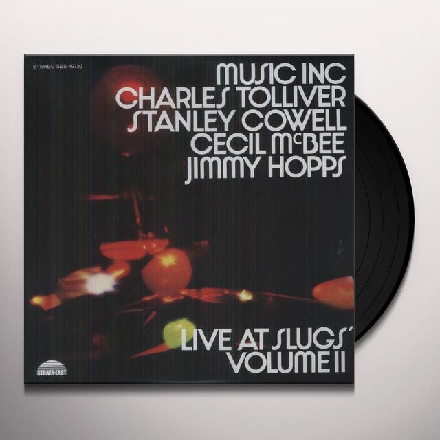 Music Inc: Charles Tolliver LIVE AT SLUGS II Vinyl Record