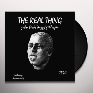 Dizzy Gillespie REAL THING Vinyl Record