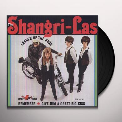 Shangri-Las LEADER OF THE PACK Vinyl Record