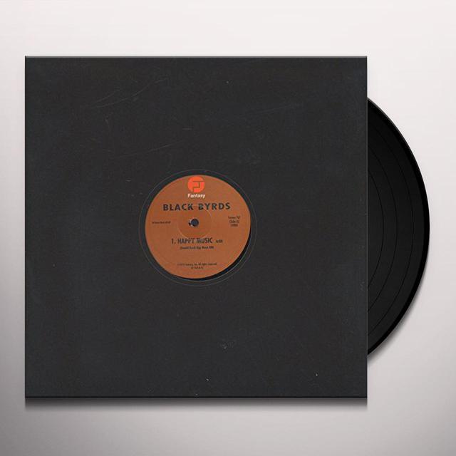 Blackbyrds HAPPY MUSIC Vinyl Record