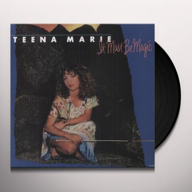 Teena Marie IT MUST BE MAGIC Vinyl Record