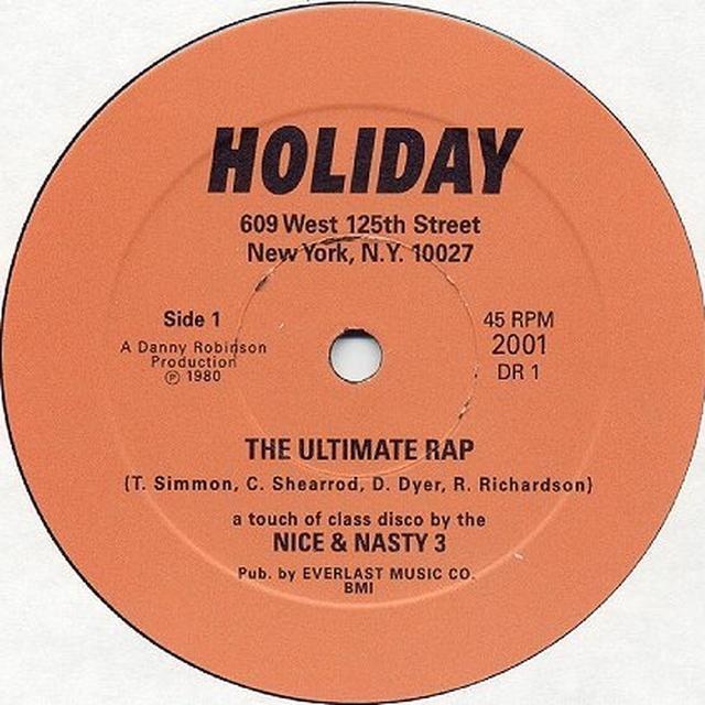 Nice & Nasty 3 ULTIMATE RAP Vinyl Record