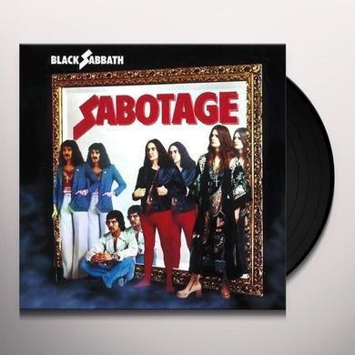 Black Sabbath SABOTAGE Vinyl Record