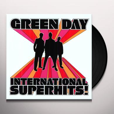 Green Day INTERNATIONAL SUPERHITS GREATEST HITS Vinyl Record