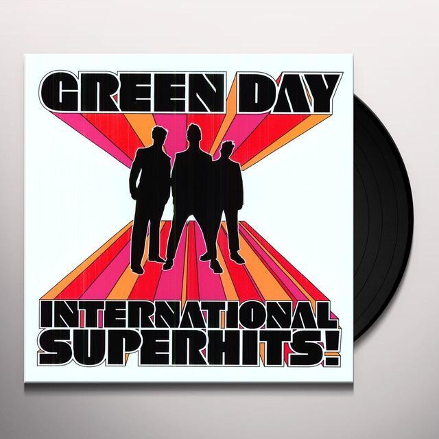 Green Day INTERNATIONAL SUPERHITS GREATEST HITS Vinyl Record