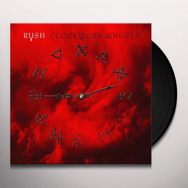 Rush CLOCKWORK ANGELS Vinyl Record