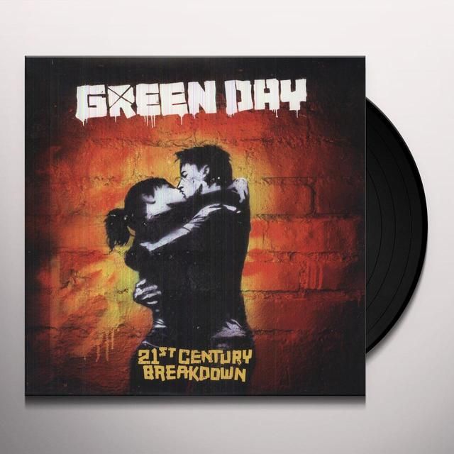 Green Day 21ST CENTURY BREAKDOWN Vinyl Record - 180 Gram Pressing