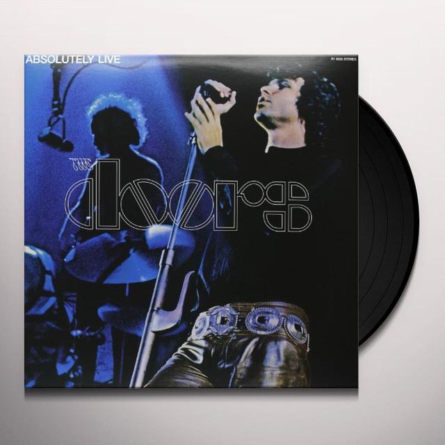 The Doors ABSOLUTELY LIVE Vinyl Record - 180 Gram Pressing