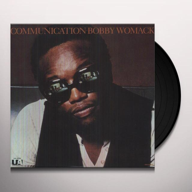 Bobby Womack COMMUNICATION Vinyl Record