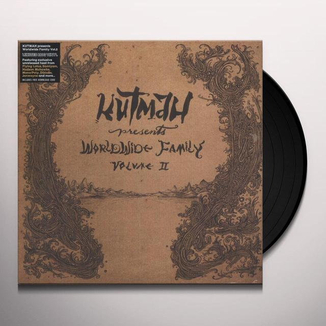 KUTMAH PRESENTS: WORLDWIDE FAMILY 2 / VARIOUS Vinyl Record