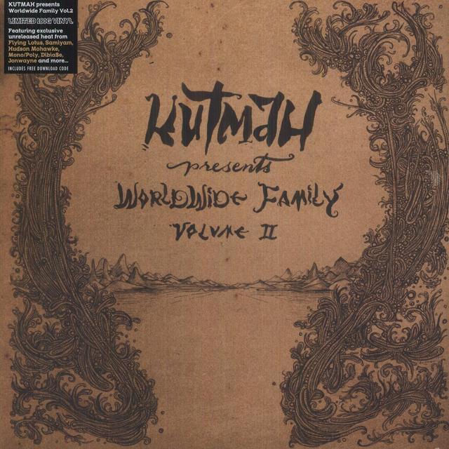 KUTMAH PRESENTS: WORLDWIDE FAMILY 2 / VARIOUS Vinyl Record