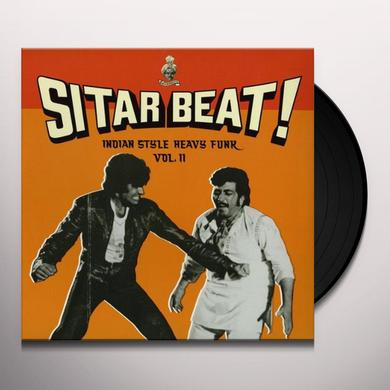 SITAR BEAT: INDIAN STYLE HEAVY FUNK 2 / VARIOUS Vinyl Record