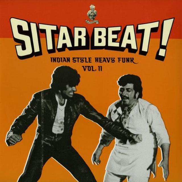 SITAR BEAT: INDIAN STYLE HEAVY FUNK 2 / VARIOUS Vinyl Record